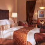 Atlantis the palm hotel bed