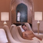 Atlantis the palm hotel sauna
