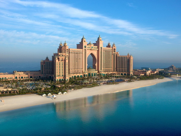 отель Atlantis The Palm в Дубае