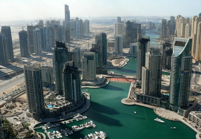 Jumeirah Lakes Towers (JLT) в Дубае