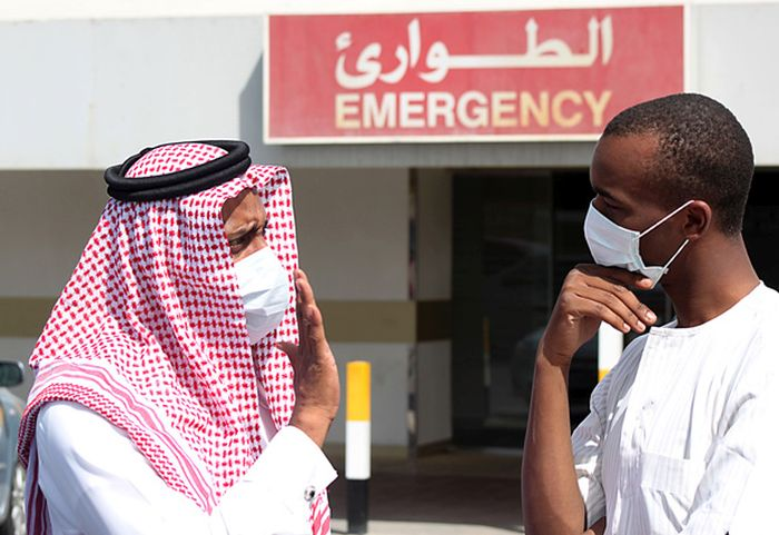 MERS virus in Dubai
