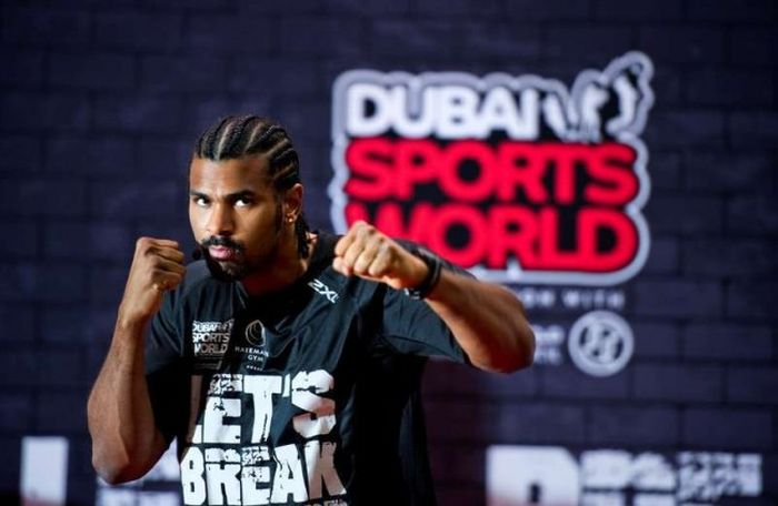 David Haye sport club Dubai
