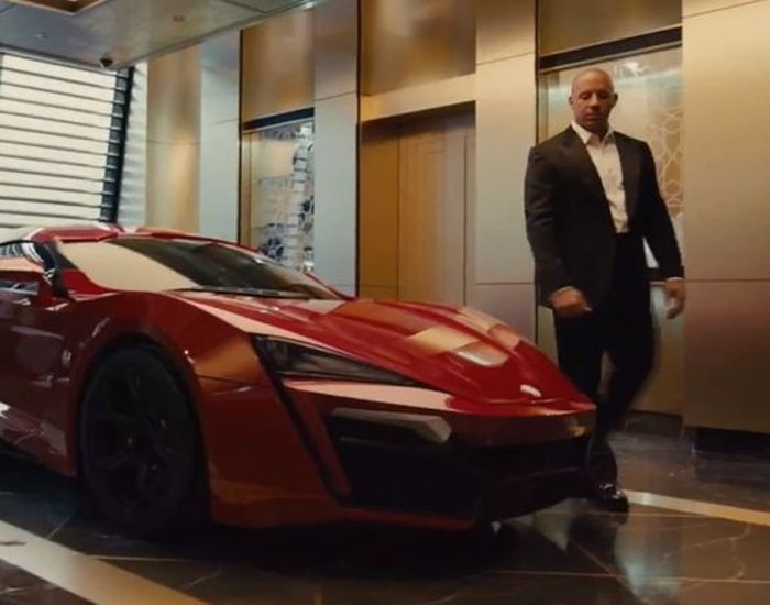 Cуперкар Вин Дизеля Lykan HyperSport  в Дубае