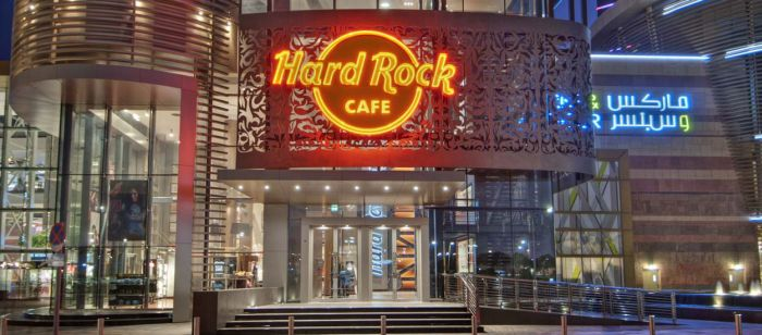Новое меню в HARD ROCK CAFE