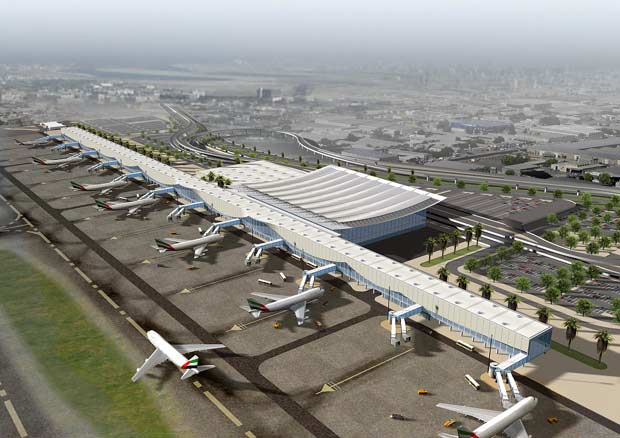 Самый большой аэропорт в мире дубай как снять квартиру в болгарии