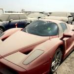 бесхозный ferrari enzo в Дубае