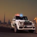 Дубайский полицейский Брабус
