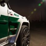 полицейский Brabus Дубай
