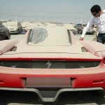 ferrari enzo бросили в Дубае