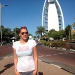 Яна Клочкова отдыхает в Дубае