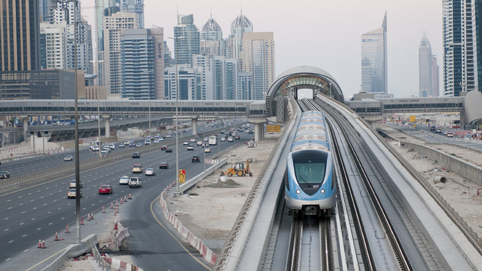 metro in dubai 2020