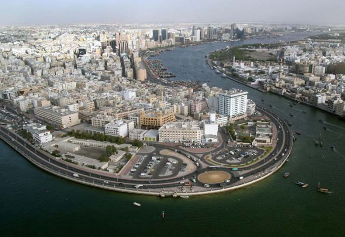 Дубайский канал Dubai Creek