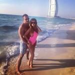 Бородина и Терехин в Дубае 2014