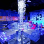 First chill out ice lounge cafe in Dubai