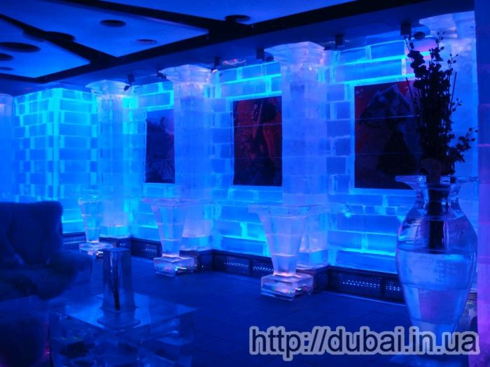 chill out ice lounge cafe in Dubai