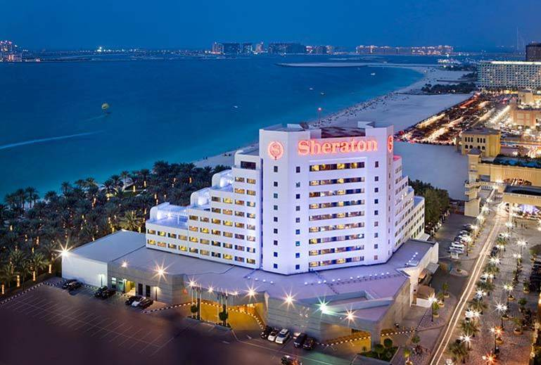 Отель Sheraton Jumeirah Beach Resort