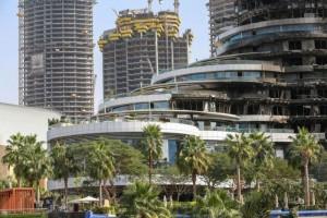 Пожар в центре Дубая в отеле Address Downtown