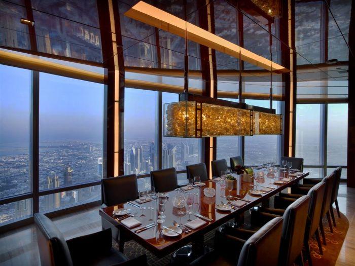 ресторан атмосфера дубай официальный сайт