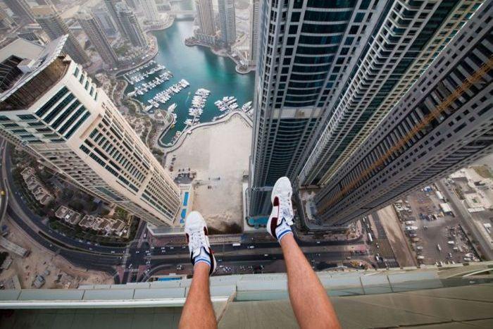 Смотровая площадка Бурдж Халифа в Дубае - Дубай