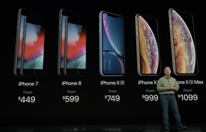 Цены на новые iPhone в Дубае