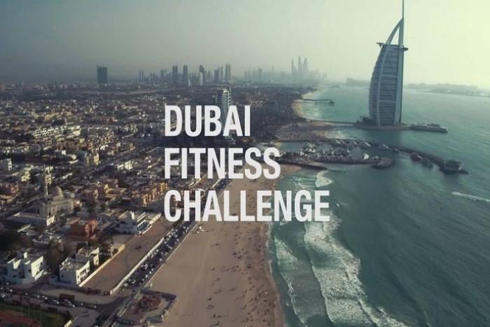 Dubai Fitness Challenge в поддержку городского транспорта