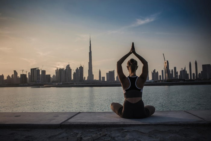 Марафон Dubai Fitness Challenge 2018