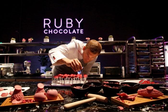 В Дубае появился новый вид шоколада