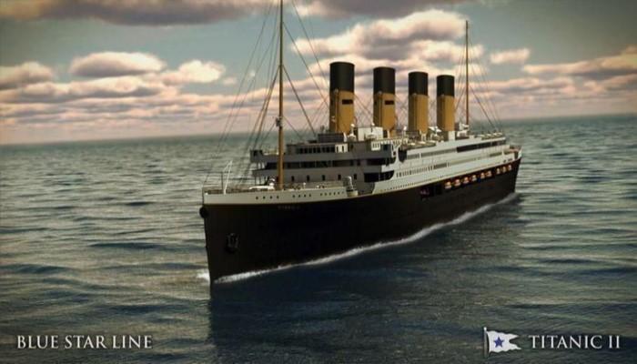 Titanic II Blue Star Line 2022