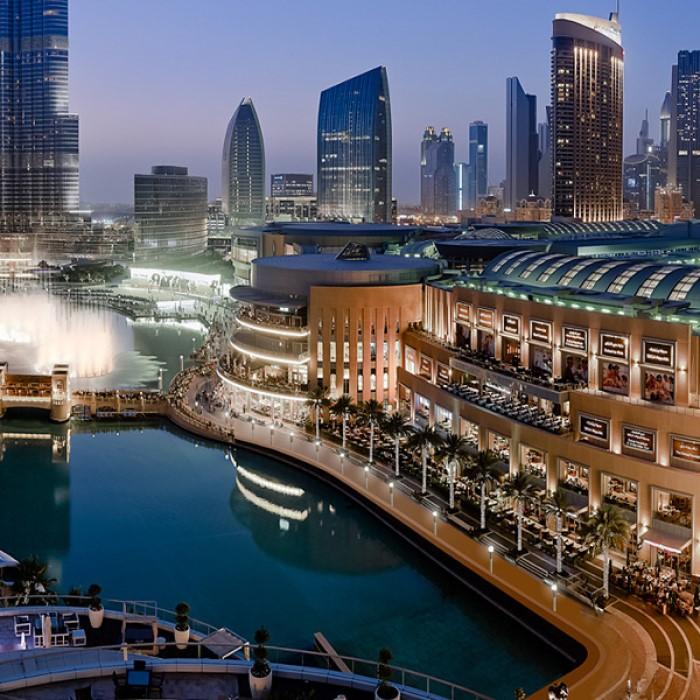 Крупнейший торговый центр Дубая