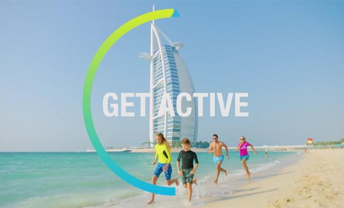 спортивный марафон Dubai Fitness Challenge