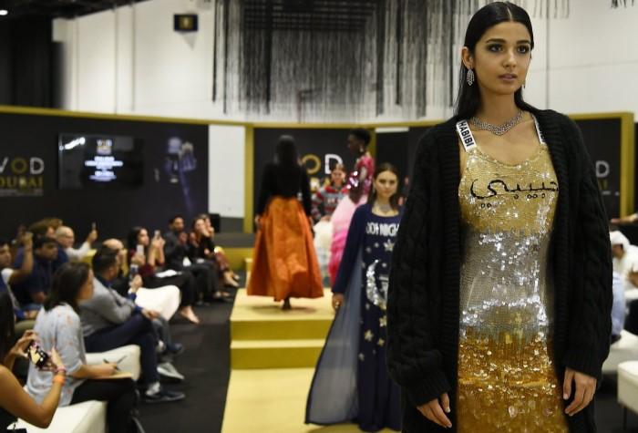 Неделя арабской моды в Дубае