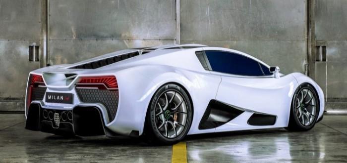 производитель суперкаров из Австрии представил свой новый автомобиль Milan Red