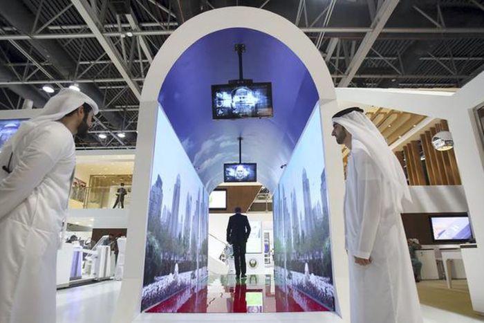 Биометрический тоннель открыли в аэропорту Дубая