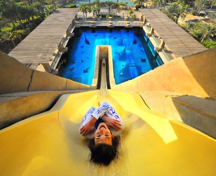 Аттракционы из Дубая вошли в число самых экстремальных развлечений в мире