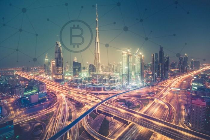 в ОАЭ половина всех транзакций через блокчейн