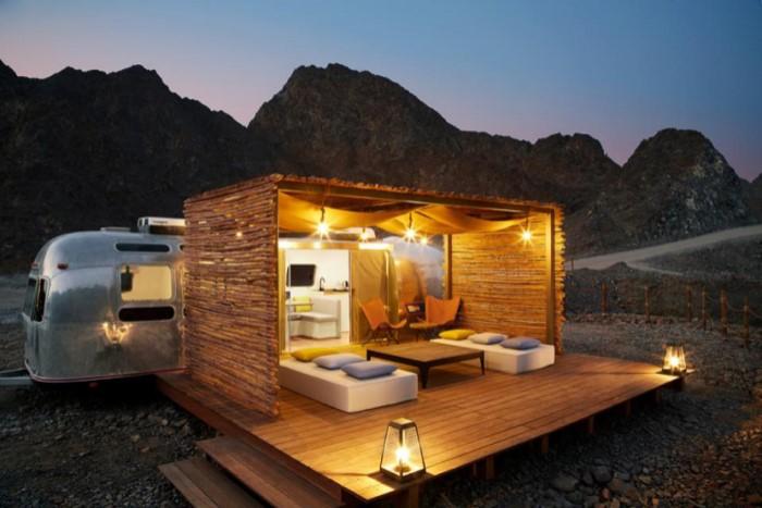 Хатта Дубай трейлерный кемпинг