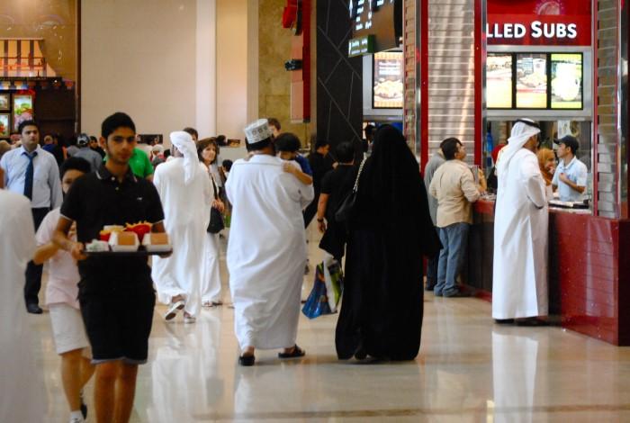 Большая часть населения Дубая страдает от лишнего веса