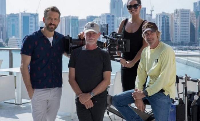 Райан Рейнольдс приехал в Абу-Даби на съемки фильма