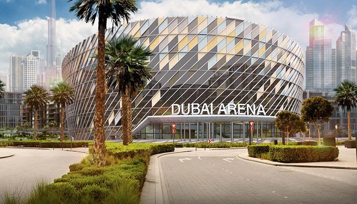 новый отель вблизи Дубайской арены (Dubai Arena)