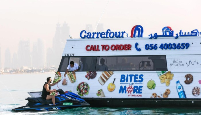 Carrefour доставит заказы на пляжи Kite Beach, Jumeirah Public beach и Al Sufouh Beach